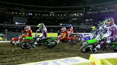 Science Of Supercross Engineered By Kawasaki U2013 Episode 33 (First Turn)